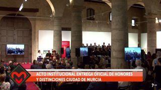 20/05/2018 Entrega oficial de honores y distinciones Ciudad de Murcia