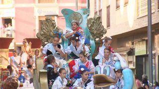 20/10/2017 Desfile de carrozas de Puerto Lumbreras
