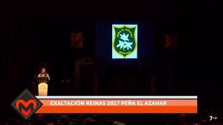 22/02/17 Exaltación reinas 2017 peña el Azahar