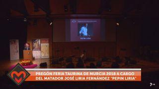 22/10/2018 Pregón Feria Taurina de Murcia