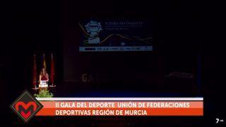 22/11/2018 II Gala del Deporte de la Unión de Federaciones Deportivas Región de Murcia