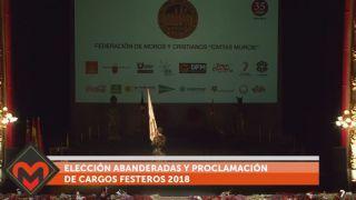 23/07/2018 Elección abanderadas y proclamación de cargos festeros 2018