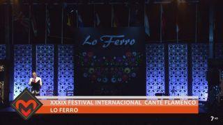 24/09/2018 XXXIX Festival Internacional cante flamenco Lo Ferro
