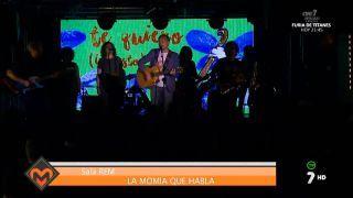 25/05/2016 Concierto de La momia que habla