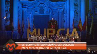 25/07/2018 51 Festival Internacional de Folklore en el Mediterráneo