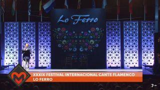 25/09/2018 XXXIX Festival Internacional del cante flamenco de Lo Ferro