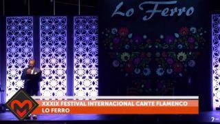 26/09/2018 XXXIX Festival Internacional del cante flamenco de Lo Ferro