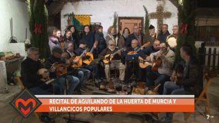 26/12/2018 Recital de aguilando y villancicos de la peña La Crilla