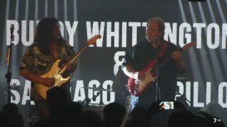 4/10/2018 Santiago Campillo y Buddy Whittington