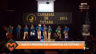 5/02/2016 Gala y pregón del Carnaval de Totana