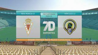 19/09/2020 Pretemporada fútbol: Real Murcia CF - Hércules CF