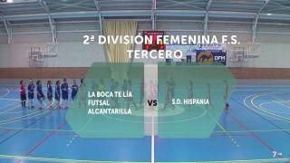 Fútbol sala femenino: Alcantarilla - Hispania