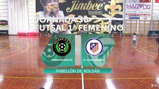 Fútbol sala femenino: Jimbee - Atlético Navalcarnero