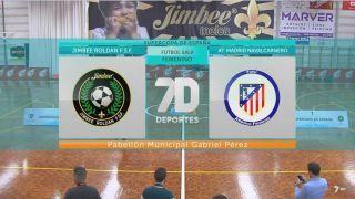 Fútbol sala femenino: Jimbee Roldán F.S.F. - At Madrid Navalcarnedo