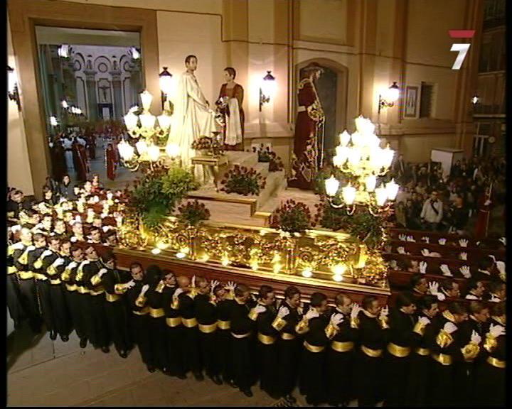 Procesión del Santísimo Cristo del Prendimiento (13/04/2009)