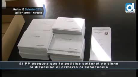 Temporada 2 Número 273 / 15/12/2015 PP politica cultural