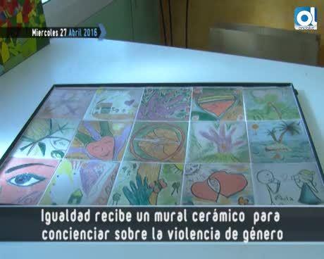 Temporada 2 Número 610 / 27/04/2016 Mural ceramico violencia de genero