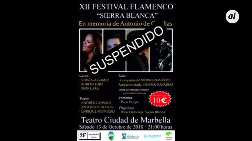 Temporada 5 Número 65 / 11/10/2018 sustpendido festival flamenco