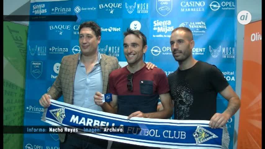Temporada 5 Número 9 / 19/09/2018 Marbella FC da Abono a Luis Angel Maté