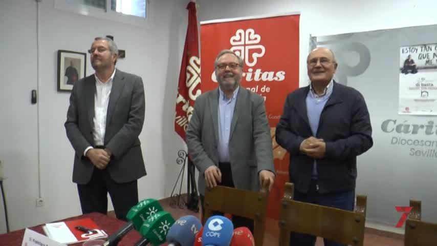 Temporada 1 Número 8 / Campaña Sin Hogar Cáritas, Inpro Diputación de Sevilla,  Nueva tienda Real Betis,