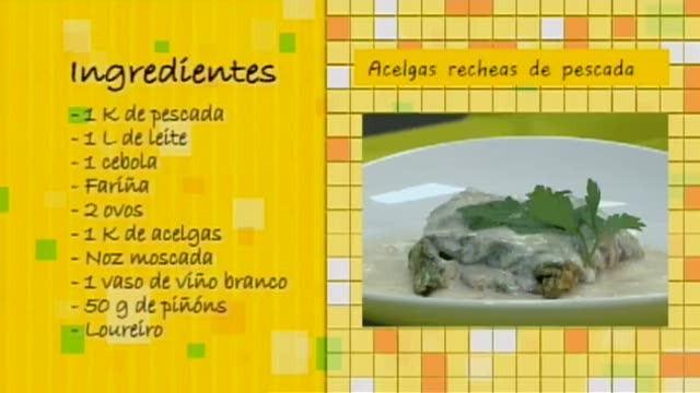 Acelgas recheas de pescada con piñóns - 14/07/2016 10:30