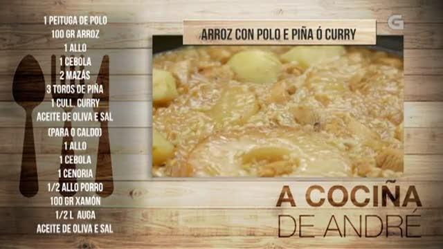 Arroz con polo e piña ao curry - 07/02/2018 11:00