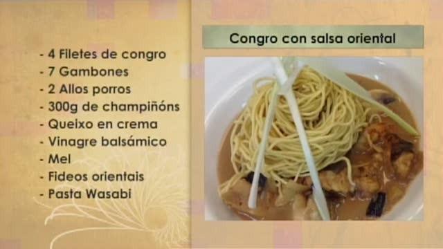 Congro con salsa oriental - 21/12/2016 10:30