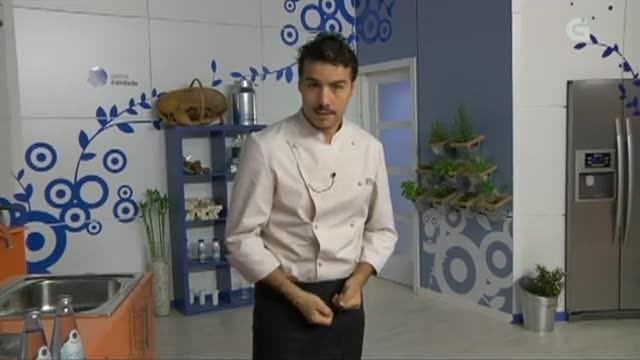Espinacas ao curry con espetos de polo - 05/02/2013 10:30