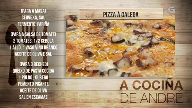 Pizza á galega - 29/08/2018 11:00