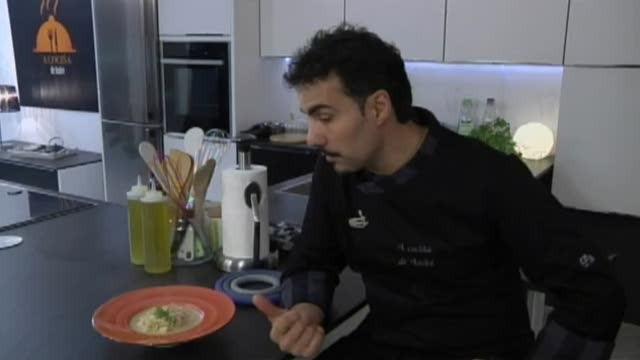 Risoto de crema de queixo con limón confitado e salmonetes - 05/06/2017 10:30