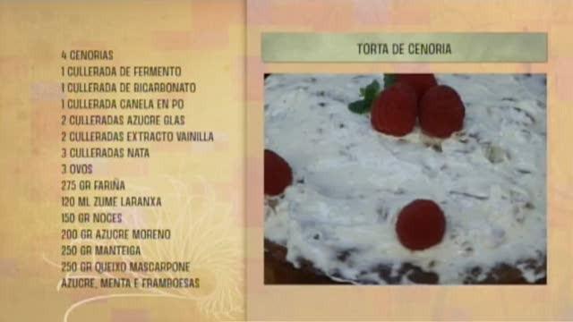 Torta de cenoria - 13/06/2017 10:30