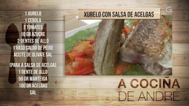 Xurelo con salsa de acelgas - 18/06/2018 11:00
