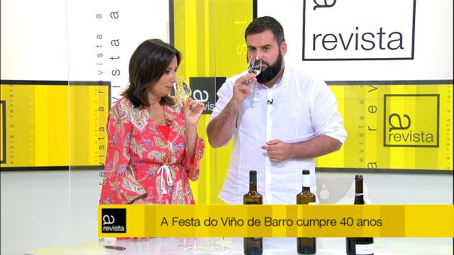 Hoxe tocou catar o viño das Rías Baixas que nos trouxeron desde Barro - 13/06/2019 12:00