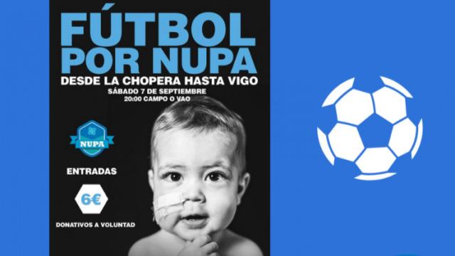 Partidazo solidario o sábado no Vao para recadar cartos a favor da asociación NUPA - 05/09/2019 14:04