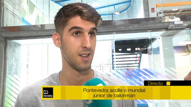 Pontevedra acode ao mundial júnior de balonmán e falamos cos protagonistas - 15/07/2019 14:16