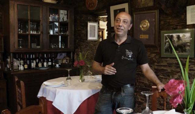 Casa Germán, en Cambre, restaurante Galicia, en Begonte e xeadería Colón, na Coruña - 10/10/2018 00:15