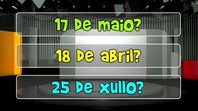 Cal é a data sinalada polo aniversario do Xabarín Club? - 17/04/2021 09:00