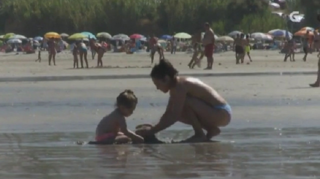 Praias de Patos en Nigrán, Barraña en Boiro e A Barrosa en San Vicente do Mar (O Grove) - 07/08/2016 23:30
