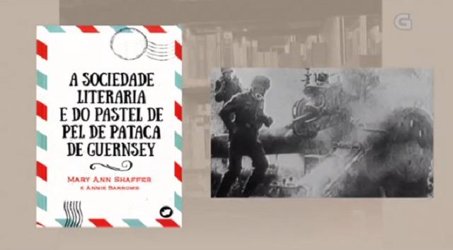 """""""A sociedade literaria e do pastel de pel de patacas de Guernsey"""" de Shaffer e Borrows - 14/03/2017 13:50"""