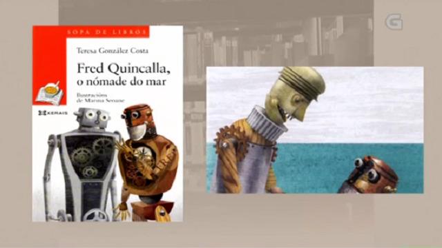 """""""Fred Quincalla, o nómade do mar"""" de Teresa González - 10/04/2017 13:50"""