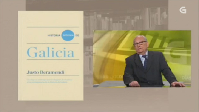 """""""Historia mínima de Galicia"""" de Justo Benamendi - 20/10/2016 13:50"""