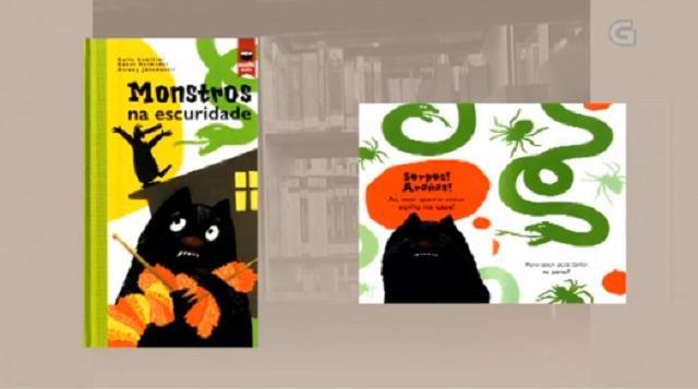 """""""Monstros na escuridade"""" de Kalle Güettler, Rakel Helmsdal e Áslaug Jóndsdóttir - 04/10/2017 13:45"""