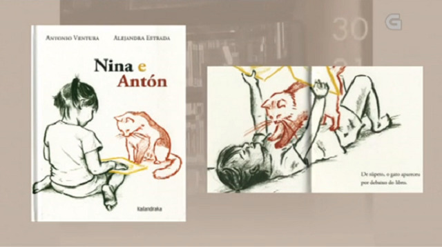 """Nina e Antón"" de Antonio Ventura e Alejandro Estrada - 04/05/2018 13:45"