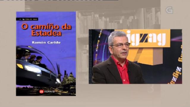 """""""O camiño da Estadea"""" de Ramón Caride - 26/01/2017 13:50"""