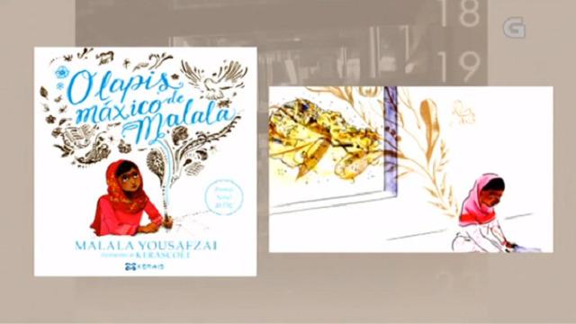 """""""O lapis máxico de Malala"""" de Malala Yousafzai (Ilustracións de Kerascoët) - 24/01/2018 13:45"""