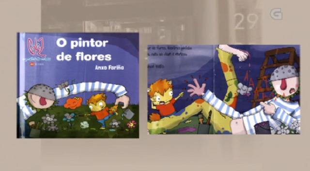 """""""O pintor de flores"""" de Anxo Fariña - 13/02/2018 13:45"""