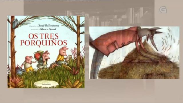 """""""Os tres porquiños"""" de Ballesteros / Somá - 30/01/2017 13:50"""