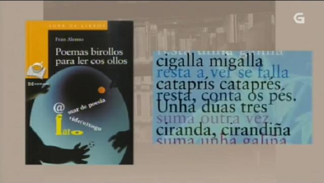 """""""Poemas birollos para leer cos ollos"""" de Fran Alonso - 10/10/2016 13:50"""