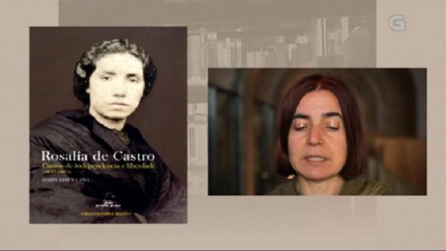 """""""Rosalía de Castro. Cantos de independencia e liberdade (1837-1863)"""" de María Xesús Lama - 01/05/2017 13:50"""