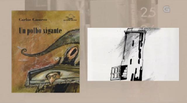 """""""Un polbo xigante"""" de Carlos Casares - 18/05/2017 13:50"""